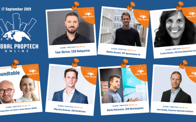 Global PropTech Online #2: eight inspiring speakers about Blockchain and AI