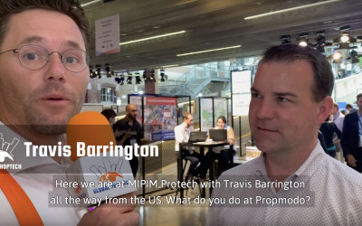 Global PropTech Interview #3: Travis Barrington (Propmodo) at MIPIM PropTech Paris