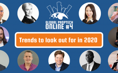 Global PropTech Online #4: Office as a Service + Trends to look out for in 2020