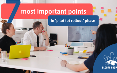 The 7 most important points to watch out for in the pilot to roll-out phase
