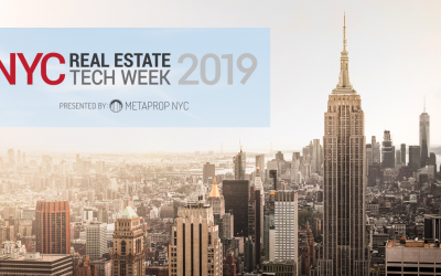 What's on the agenda during the NYC Real Estate Tech Week