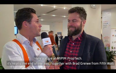 Watch the interview with Brad Greiwe, Co-Founder & Managing Partner at Fifth Wall here!