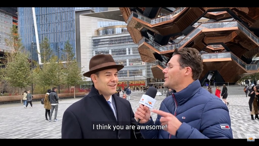 Charlie Stephens interview Hudson Yards