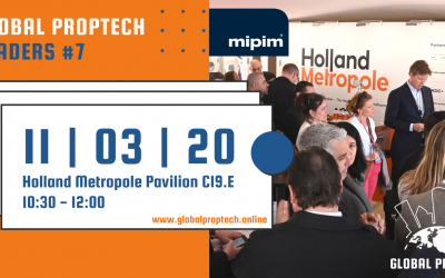 Register here for seventh edition of Global PropTech Leaders at MIPIM Cannes
